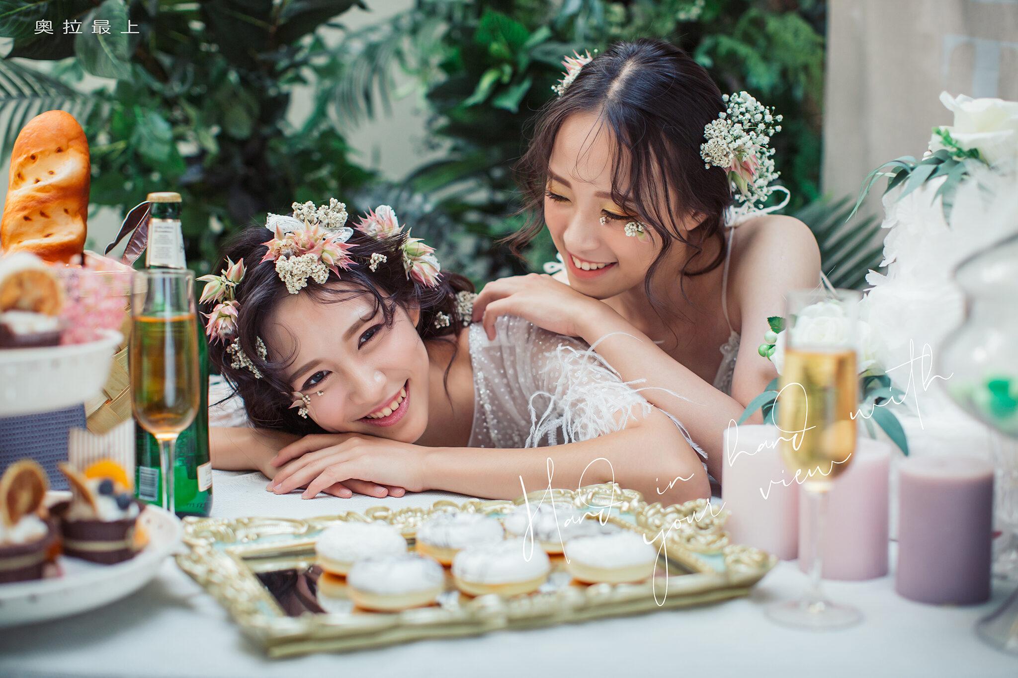造型婚紗攝影 - 閨蜜照